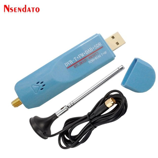 Digital USB 2 0 RTL-SDR TCXO RTL2832U R820T2 DAB FM DVBT TV Tuner