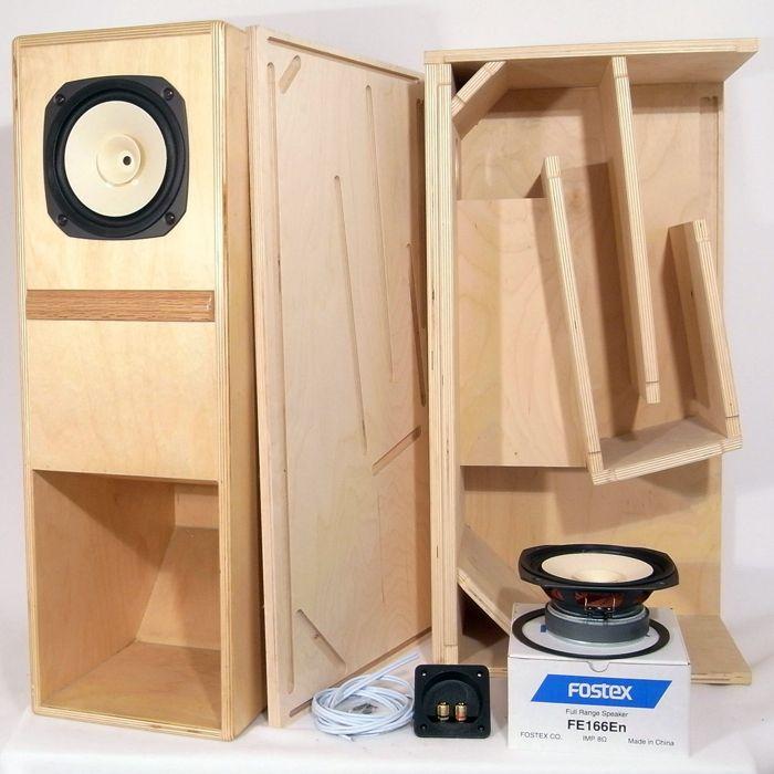 Fostex BK-16 Folded Horn Kit - Pair | car sound | Speaker