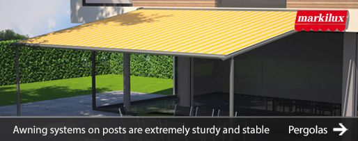 Markilux Awnings   Patio Awnings   Conservatory Awnings ...