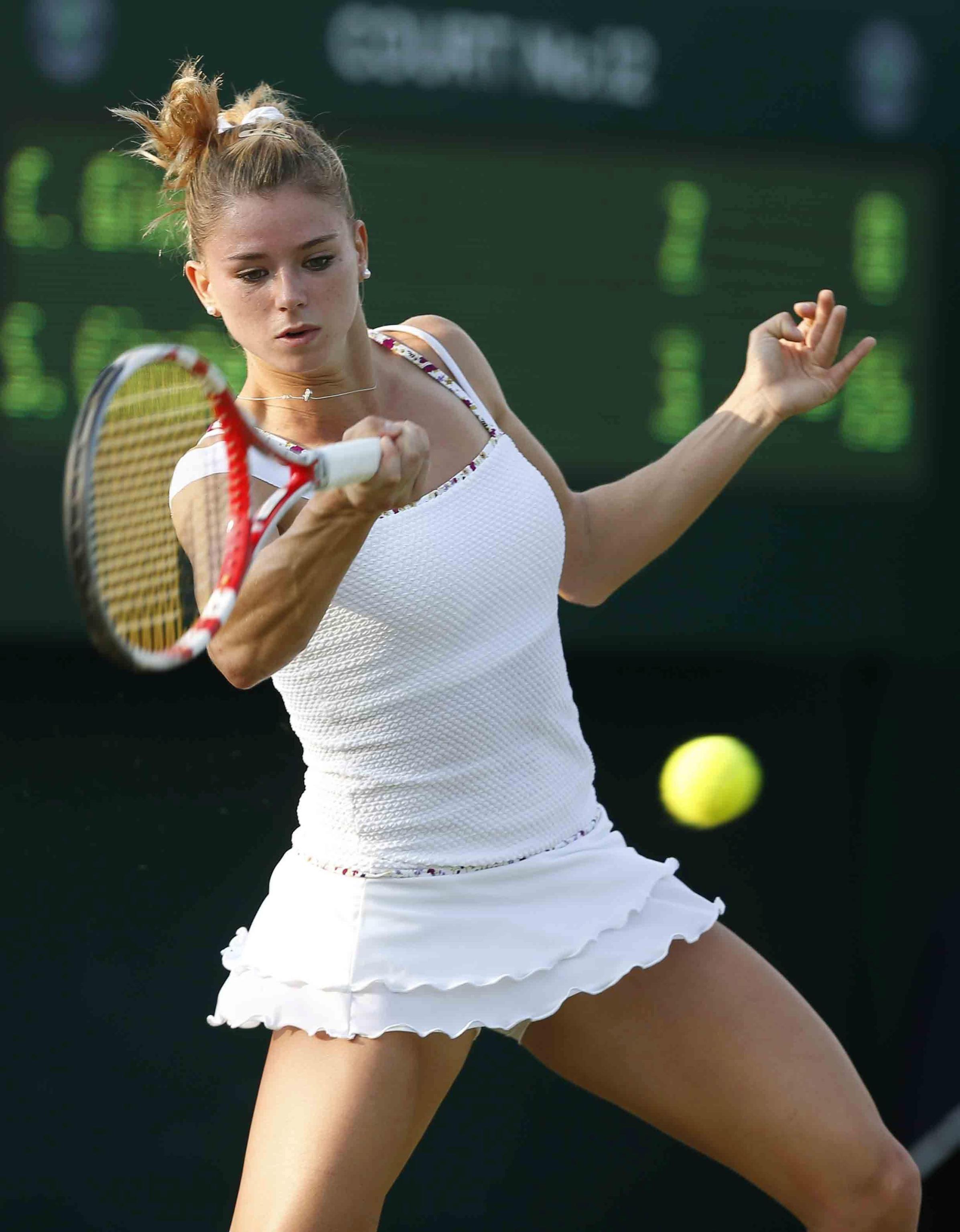 Camila Giorgi Wimbledon 2013. | CGiorgi | Sport tennis, Tennis, Tennis world