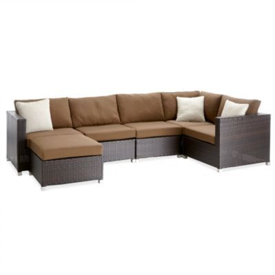 Whole Home®/MD 'Capri' 6-Piece Patio Sectional - Sears ...