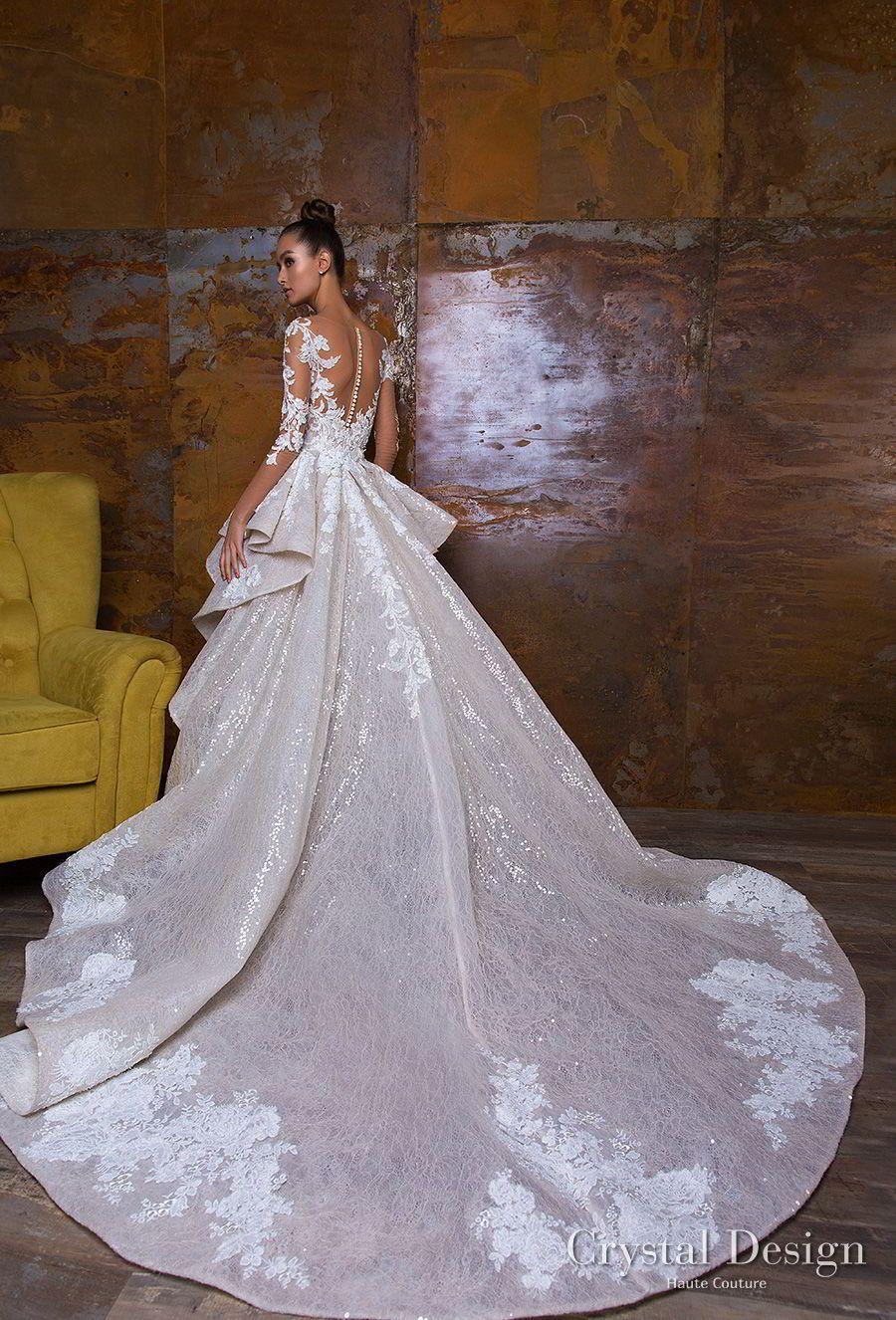 Crystal Design 2018 Wedding Dresses Royal Garden Haute