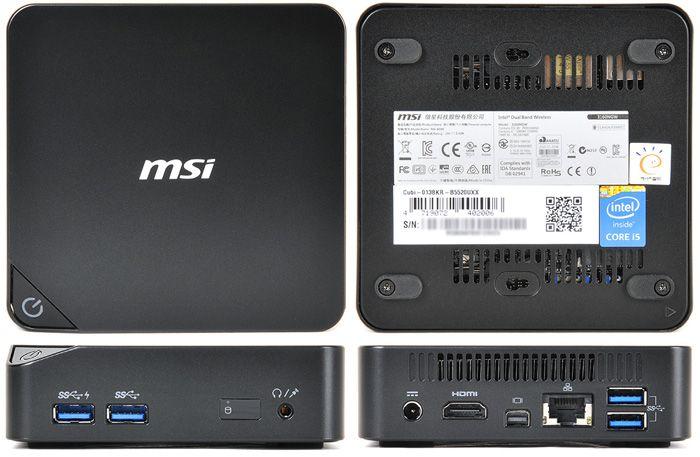 갖출 것 다 갖춘 미니 PC 교과서, MSI Cubi i5-5200U :: 다나와 DPG