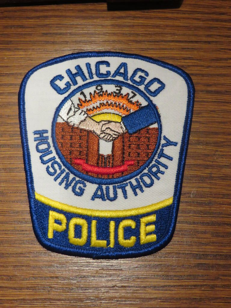 Il Chicago Housing Authority Police Police Patches Police Police Badge