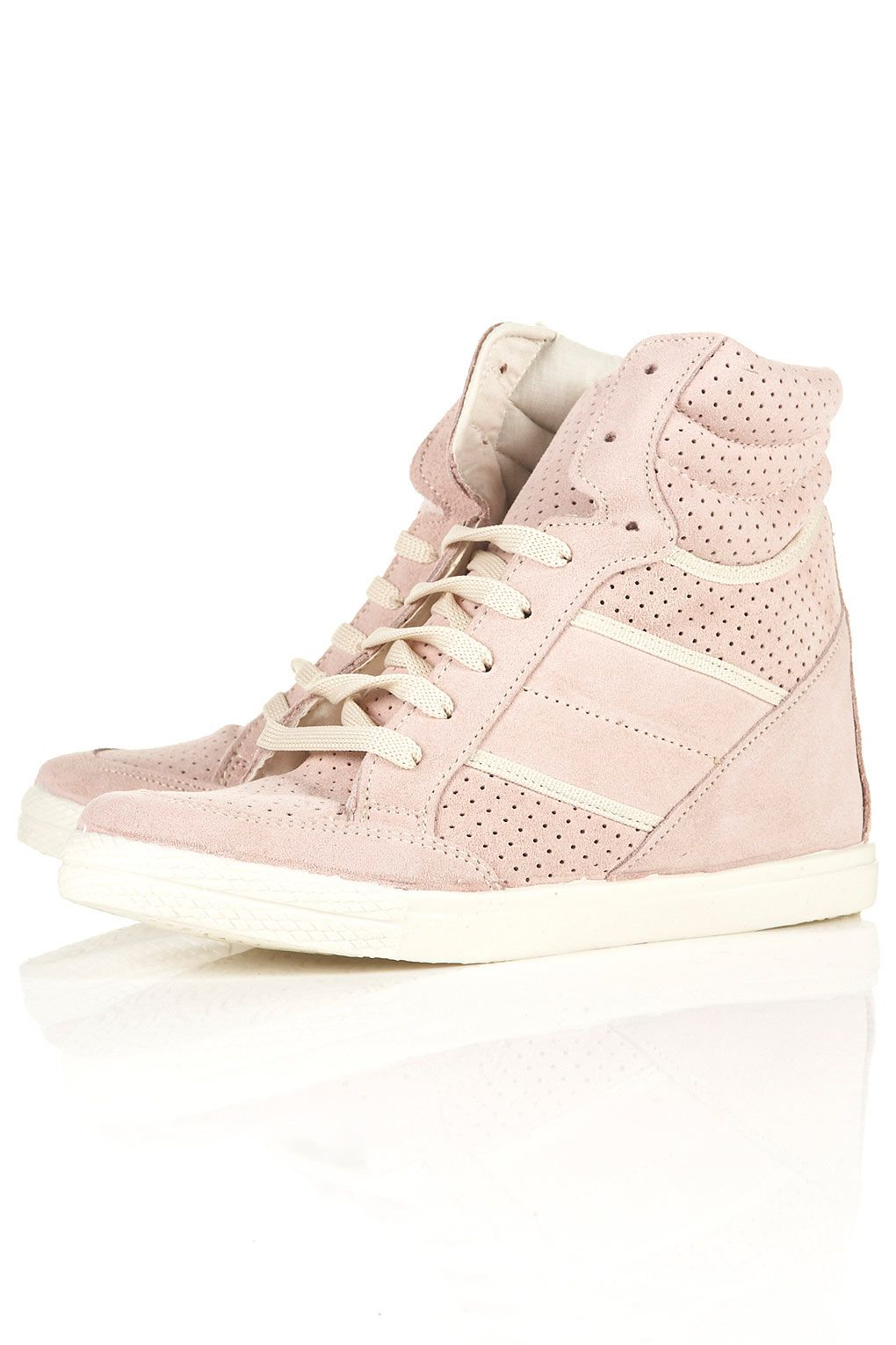 I want these!!!! they're heels but look like hightops! =D