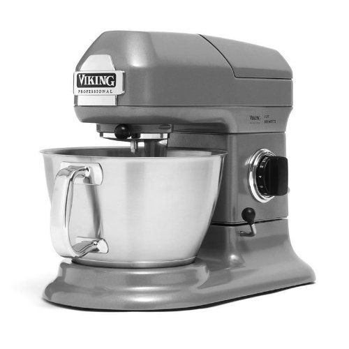Grey Kitchenaid Mixer: Viking Professional Gray Stainless Steel 5 Quart Stand