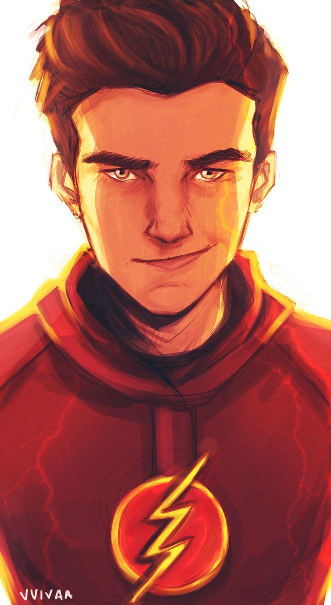 Barry Allen Is Bae Flash Desenho Kid Flash Flash Barry Allen