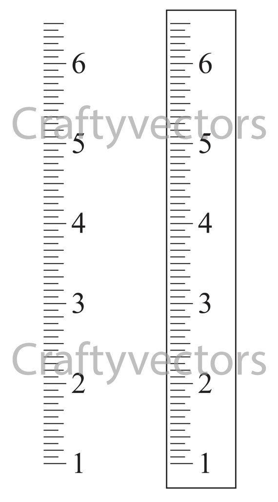 Chart Wall Printable Height Free