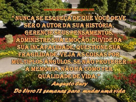 Imagem Relacionada Textos De Augusto Cury Augusto Cury Frases