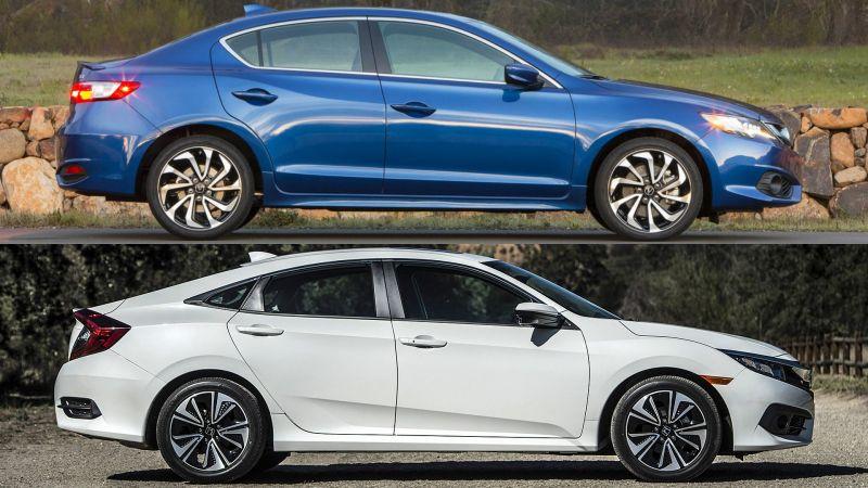 Acura Ilx Vs Acura Ilx Vs Civic Honda Civic Vs Acura Ilx Buy This Regarding Honda Civic Vs Acura Ilx Honda Civic Acura Ilx Toyota Hybrid