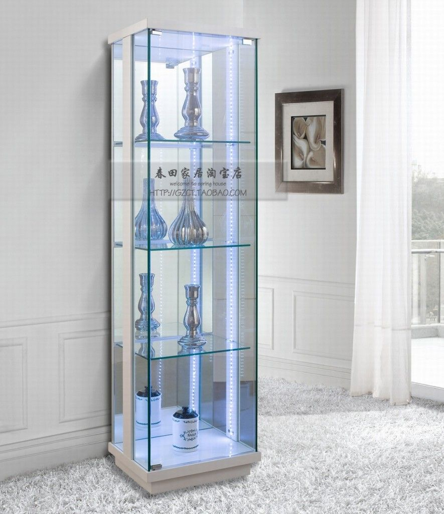 Glass Cabinets For Storage And Display Modern Glass Cabinet For