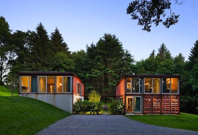 Storage Box Homes 10 cool shipping container homes http://www.bobvila/beach-box