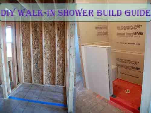 Diy Walk In Shower Build Guide Diy Shower Shower Makeover Diy