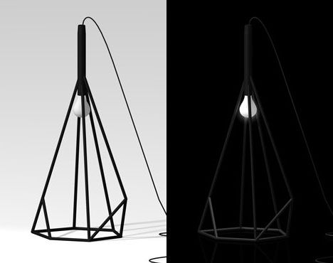 Lovely Grcic inspired Stick lamp by AtelierUtopia Core