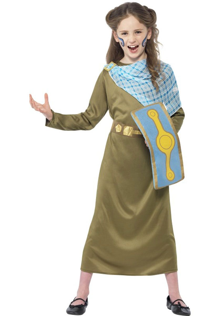 Boudica Costume - Horrible Histories Fancy Dress Collection - General Kids Costumes at Escapade