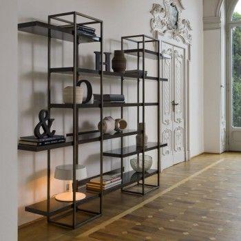 Libreria di design minimal Priscilla di Modà nella versione con ...