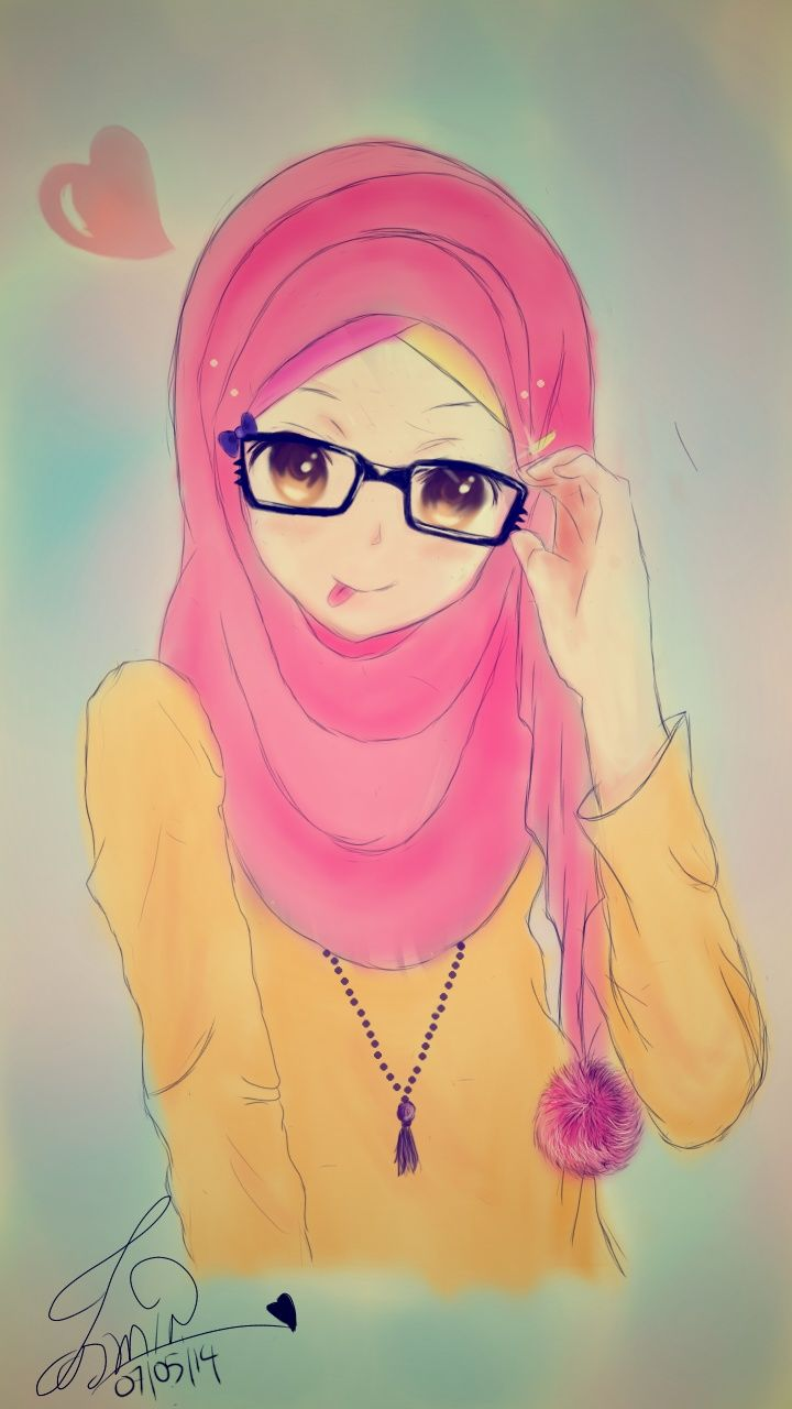 Muslim Anime Hijab Animated Dp Pinterest Almonds The O