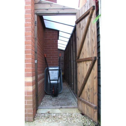 Image Result For Lean To Shed Alley Lean To Bike Storage