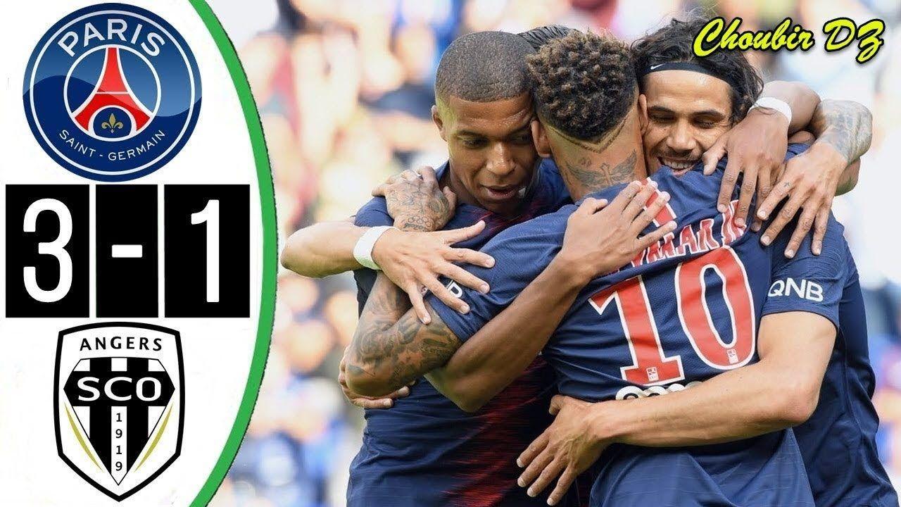 Paris Saint Germain Vs Angers 3 1 Ligue 1 25/08/2018