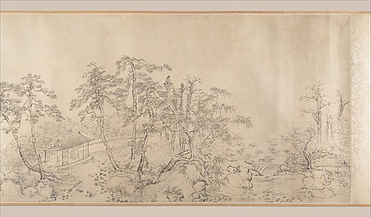 Discourse on Poetry |   Gao Jian (Chinese, 1634–after 1715)  Calligrapher: You Tong (Chinese, 1618–1704) Calligrapher: Song Zhi (Chinese, active 17th–18th century) Period: Qing dynasty (1644–1911) Date: dated 1698