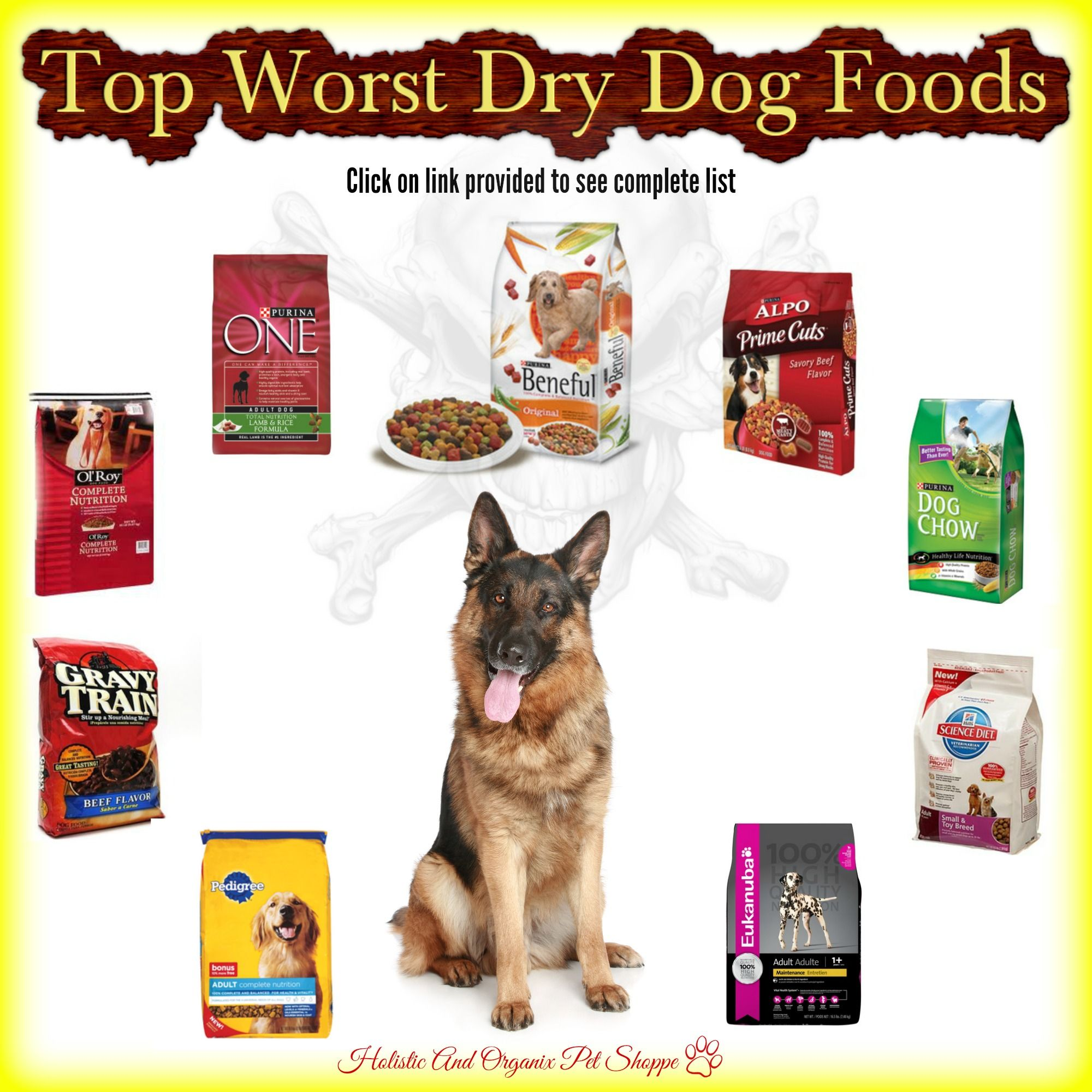 Top Worst Dry Dog Foods http//www