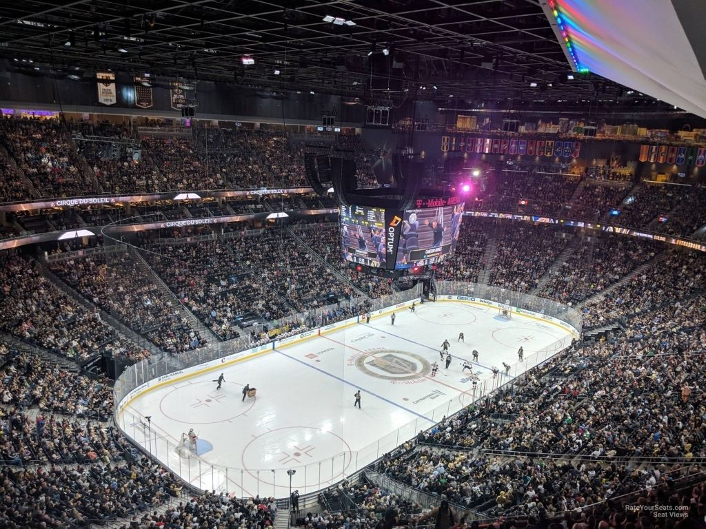 Vegas Golden Knights Seating Chart Vegas Golden Knights Golden Knights Seating Charts