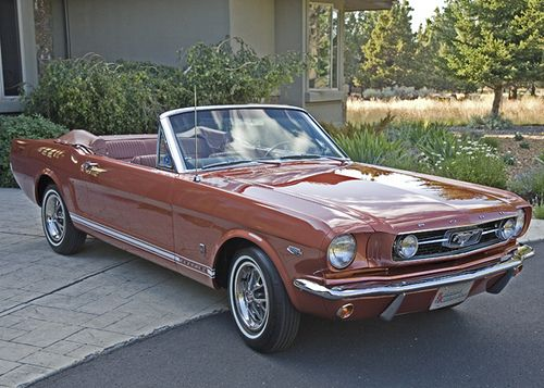 1966 Ford Mustang Gt Convertible Emberglow Hipo V8 Convertible For Sale Front Ford Mustang Mustang Cars 1966 Ford Mustang