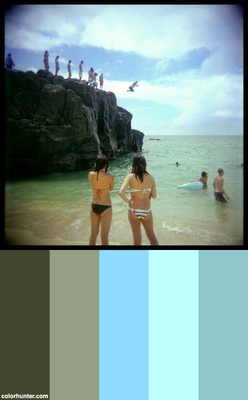 Square Root Of Hawaii Color Scheme