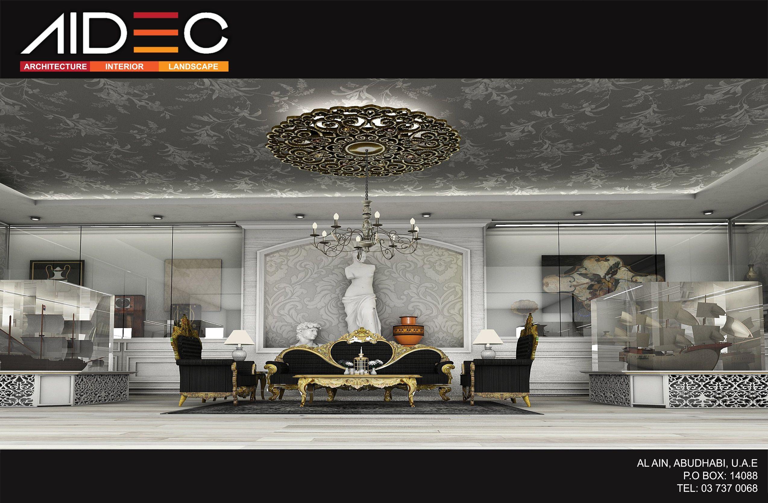 Interior Design | Abu Dhabi | UAE #aidec #interiordesign #interior #design  #abudhabi #uae #black&white #black #white #architecture #art #british  #classic ...