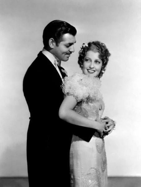 clark gable and jeanette macdonald publicity still for san francisco