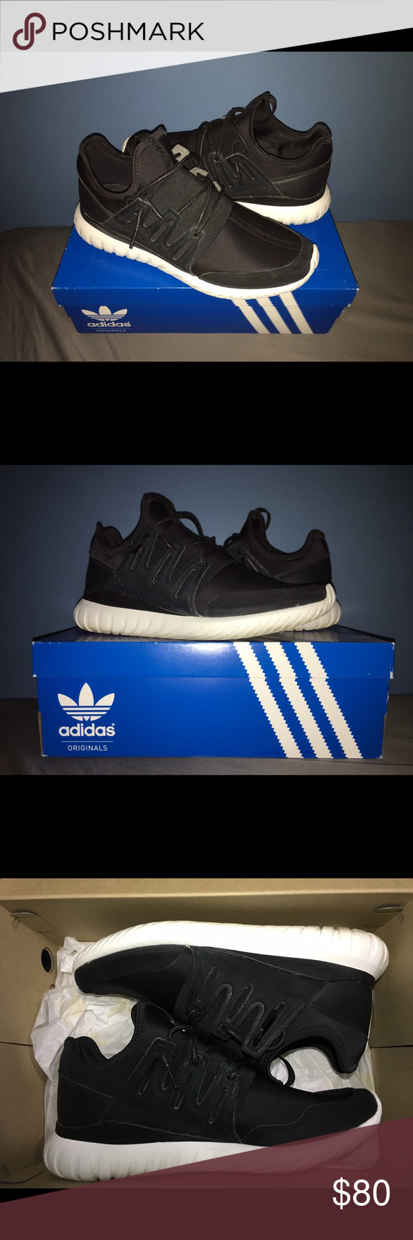 Adidas Original Tubular Radial Worn Once. In Good Shape Adidas Shoes Sneakers