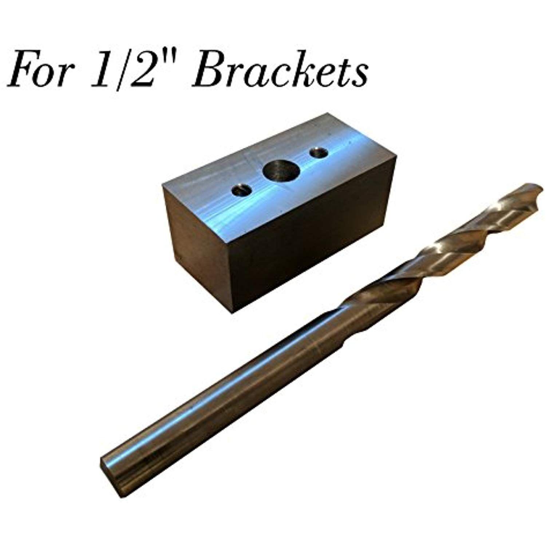 floating shelf bracket diy drill guide kit for brackets with 1 2 rh pinterest com