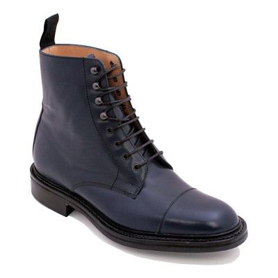 7e0eaf8e5 Barker Lambourn Navy - exclusive to Pediwear | Our Mens Shoes ...
