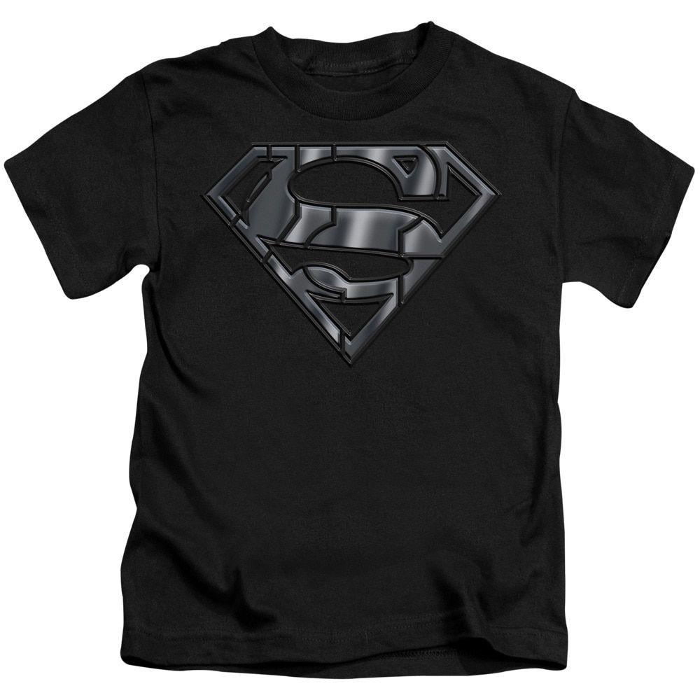 Superman/Mech Shield Short Sleeve Juvenile T-Shirt in