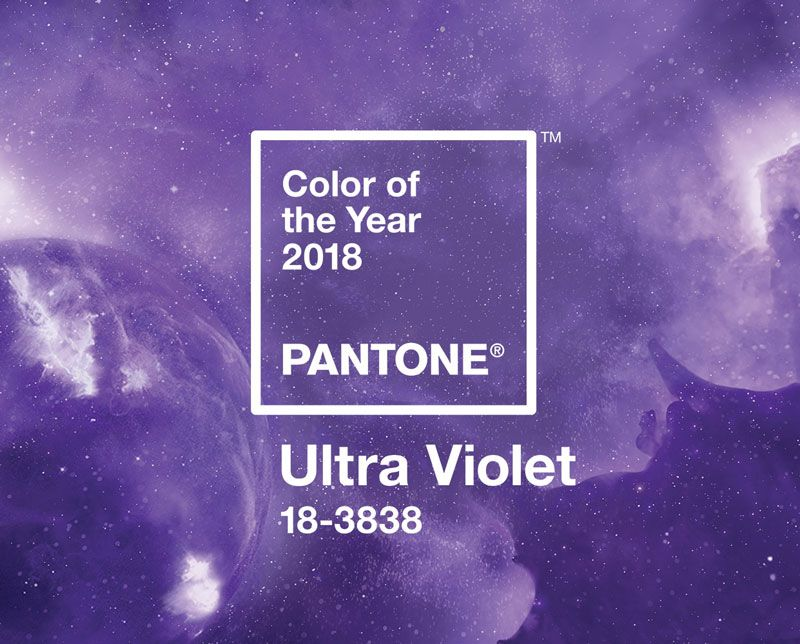 """This week the industry's world color authority, Pantone Institute, announced Ultra Violet as the 2018 Color of the Year. According to Pantone, Ultra Violet is a """"provocative yet thoughtful"""" color and traditionally associated with both royalty and spirituality. Pantone also..."""