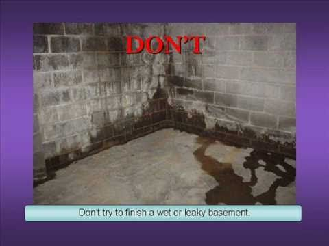 Basement Wall Finishing Dou0027s and Donu0027ts & Basement Wall Finishing Dou0027s and Donu0027ts | How Tou0027s House Projects ...