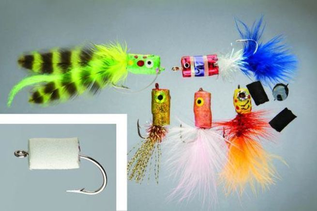 Foam poppers are deadly bass and panfish baits  For general