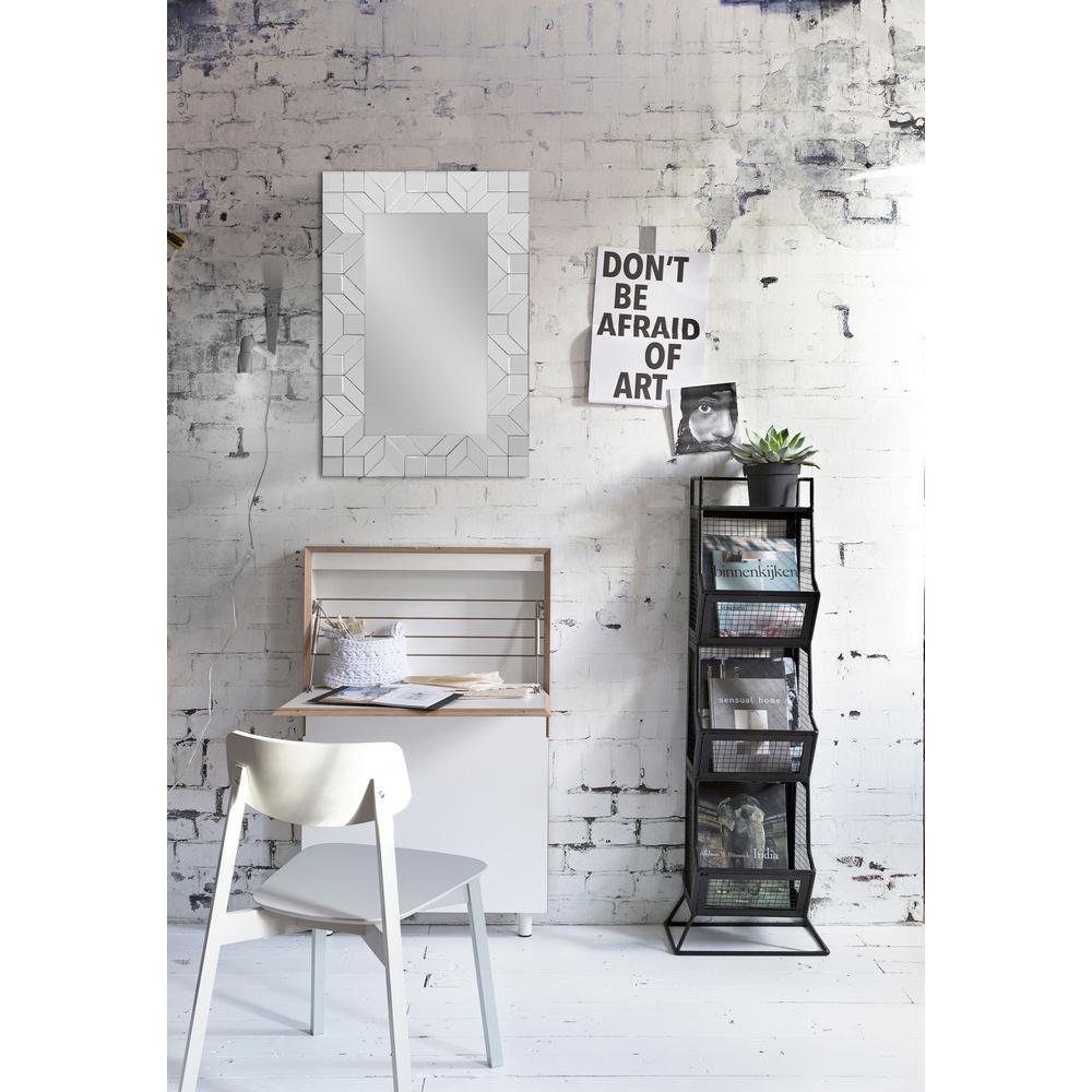 NOTRE DAME DESIGN 36 in. x 24 in. Dalia Framed Wall Mirror-MT11695