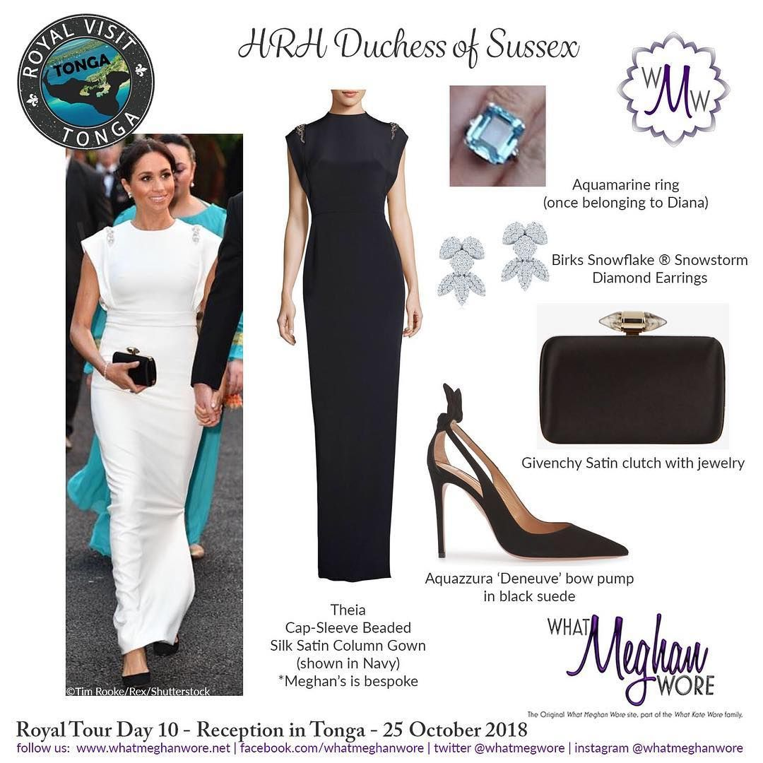 What Meghan Wore On Instagram Peace Dove White Imagine Meghan In Theiacouture Givenchyofficial Meghan Markle Style Royal Fashion Meghan Markle Outfits