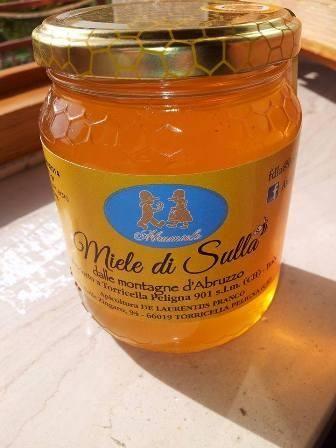 Miele di Sulla dalle Montagne d'Abruzzo - 250 g