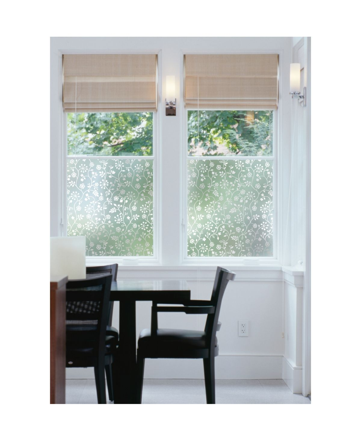 Brewster Home Fashions Winter Garden Window Film Reviews Wall