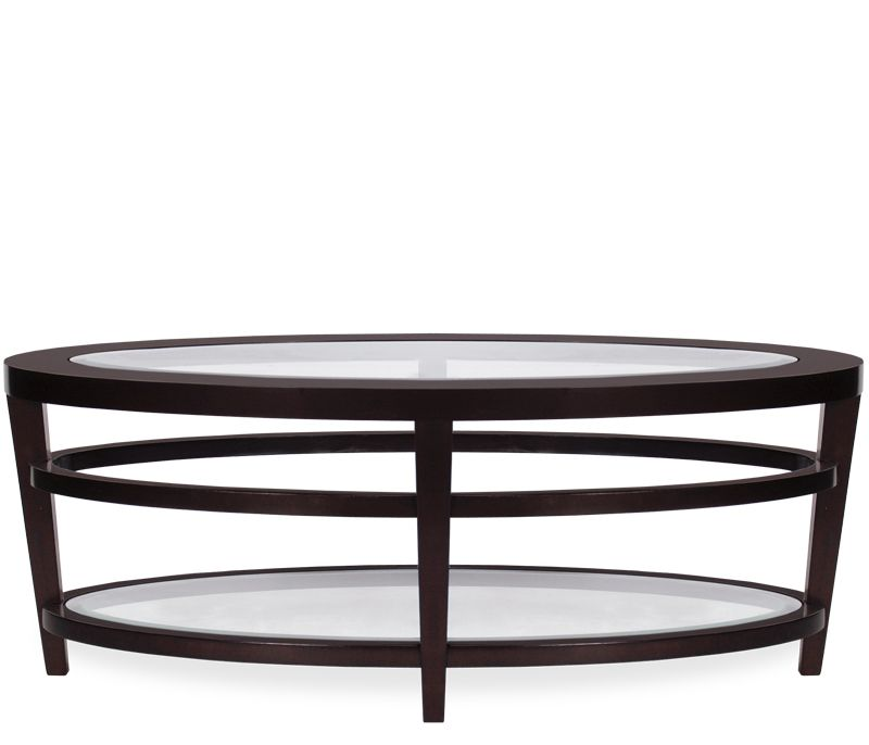 Allie Oval Coffee Table