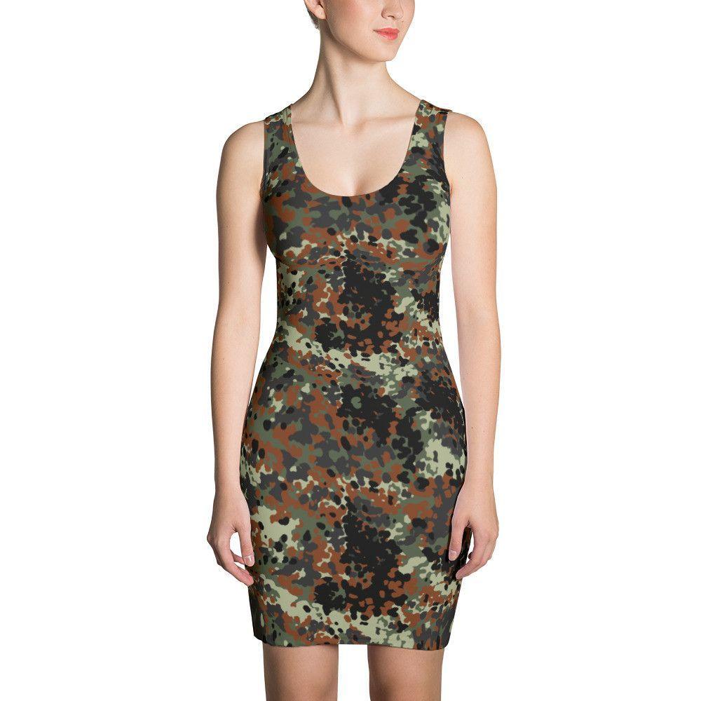 573482f28f8 German Flecktarn CAMO Sublimation Cut   Sew Dress
