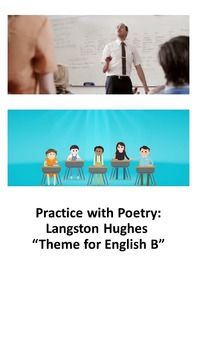 Practice With Poetry Langston Hughes Theme For English B  Ap  Using Langston Hughess Poem Theme For English B Students Will Review  Important Poetic Devices Close Read And Annotate The Text View Supporting  Video