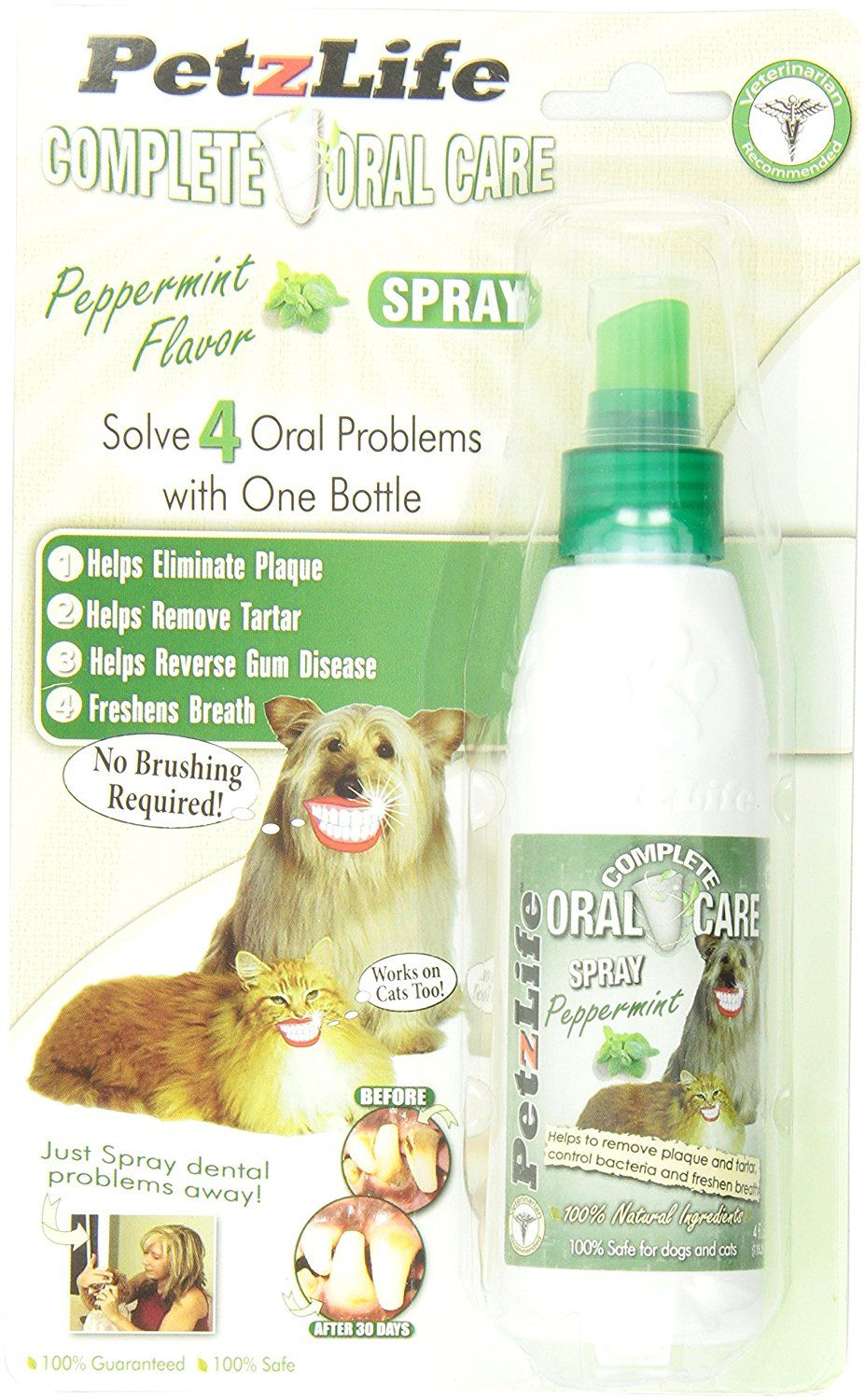 catZLIFE 891009 Complete Oral Care Spray Peppermint