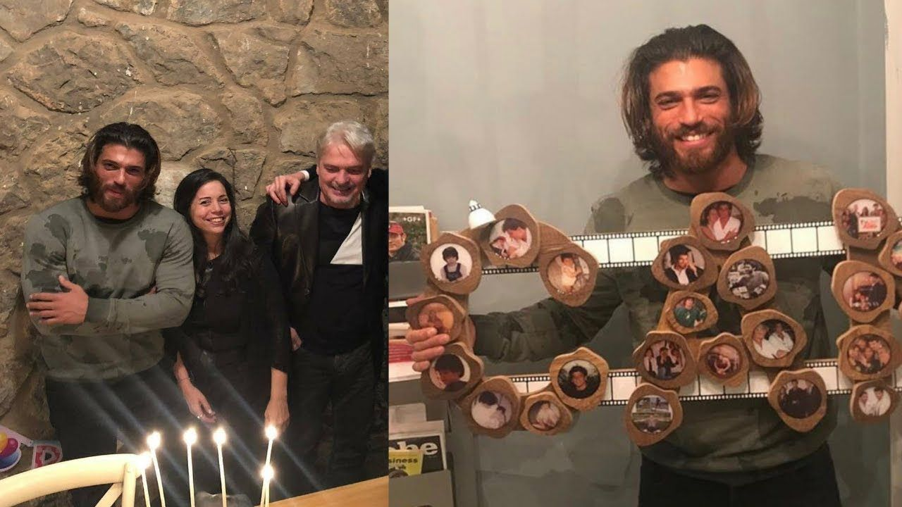 Can Yaman Celebrates His 29th Birthday With Family | Turkish Actors