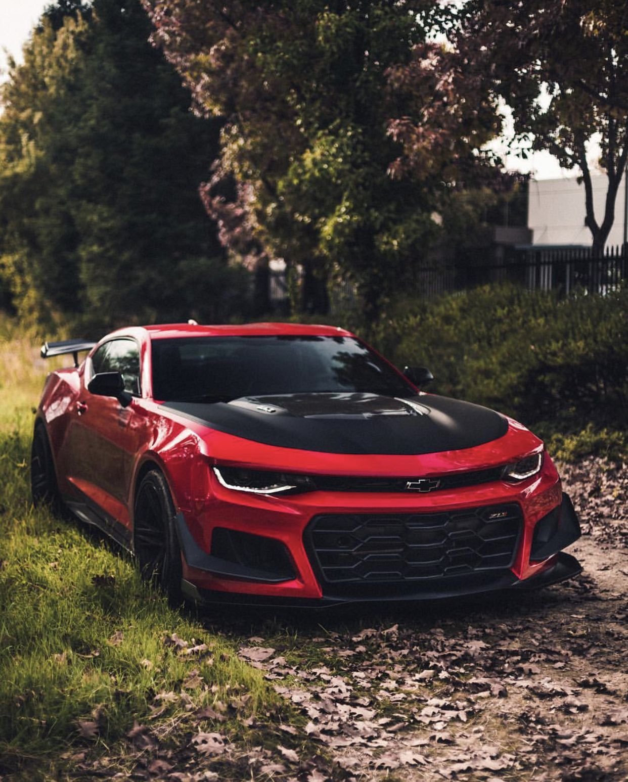chevrolet camaro zl1 1le painted in red hot photo taken by summit rh pinterest com