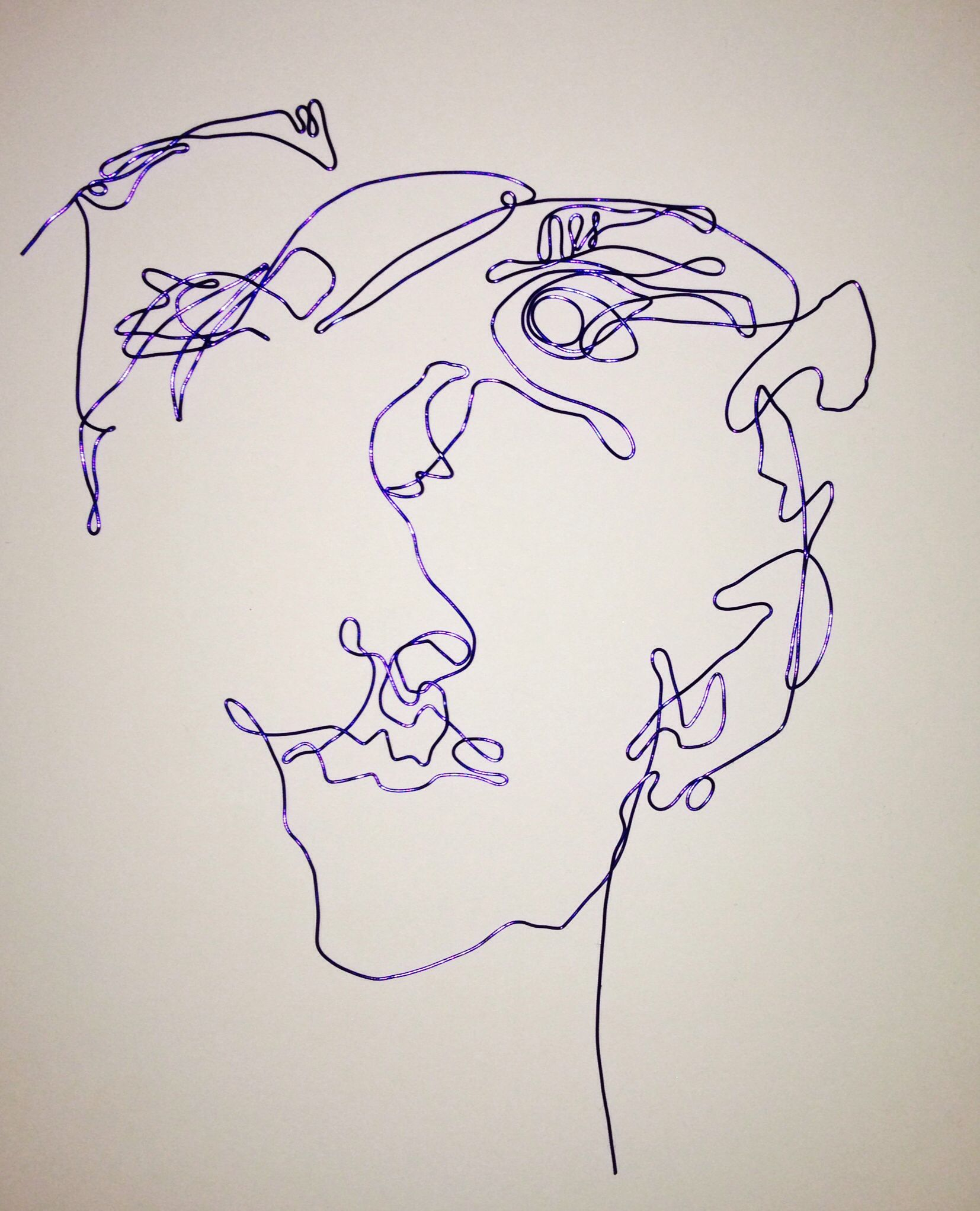 Wire Copy Of Blind Drawing Lex