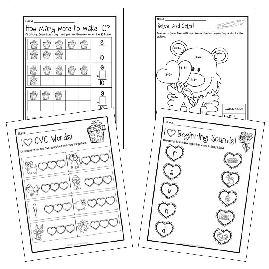 math guided math centers and worksheets freebie