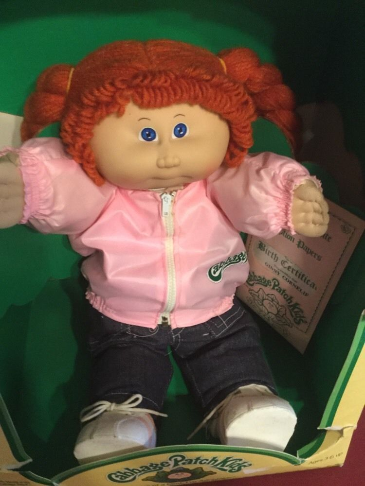 Vintage 1986 Cabbage Patch Kids Young Astronaut Doll Blue Eyes Blond Hair Ebay Cabbage Patch Babies Cabbage Patch Kids Vintage Cabbage Patch Dolls